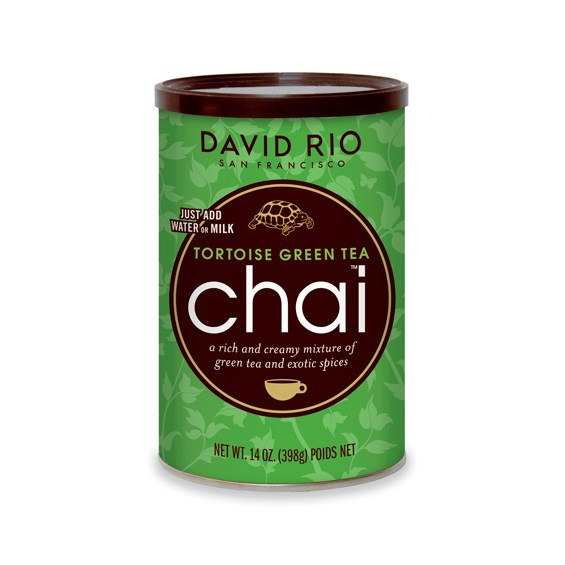David Rio Tortoise Green Chai 14 oz Can